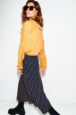 Женский комплект блуза, топ и юбка