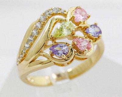 Бижутерия Ve*Vett стильная и яркая. — Кольца Xuping — Кольца бижутерия