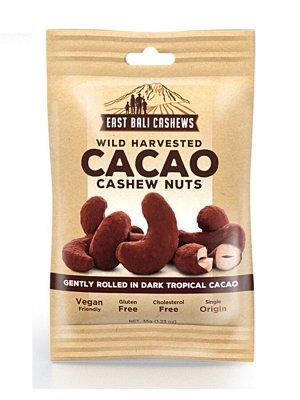 Орешки КЕШЬЮ с какао, ТМ EAST BALI CASHEWS, 35г,  СРОК ГОДНОСТИ ДО 05.02.2021