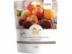 Абрикос сушеный Dried Apricots, Sun Emotions, 150г (Турция)