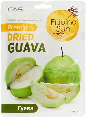Плоды гуавы сушеные, Filiino Sun100г