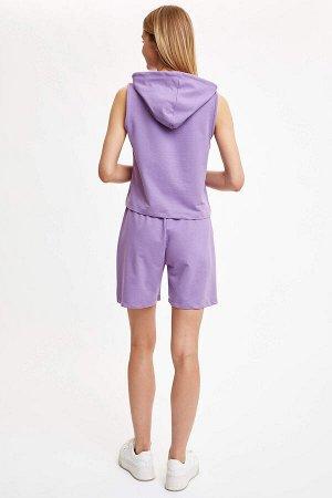 Шорты фиолетовые