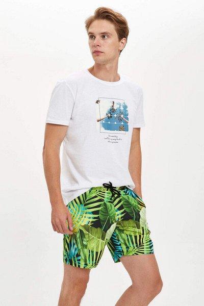 ,DFT - мужская одежда,шорты,футболки и поло,брюки джинсы  — Мужские Плавки купальные — Пляжная мода