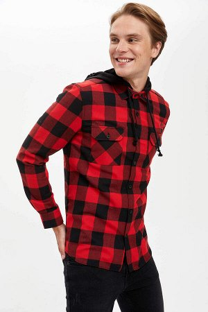 рубашка Размеры модели: рост: 1,89 грудь: 98 талия: 76 бедра: 96 Надет размер: M  Полиэстер 50%, Хлопок 50%