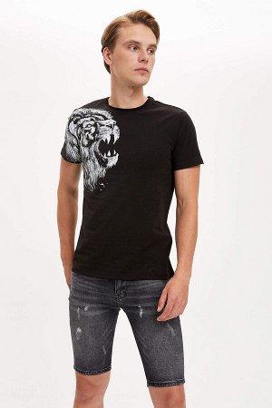 шорты Размеры модели: рост: 1,89 грудь: 99 талия: 75 бедра: 94 Надет размер: 30 Elastan 2%, Хлопок 98%