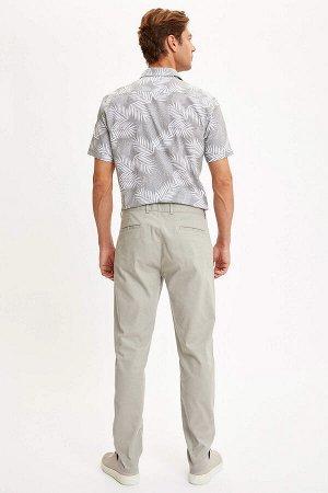 брюки Размеры модели: рост: 1,89 грудь: 97 талия: 78 бедра: 95 Надет размер: размер 32 - рост 32  Хлопок 97%,Elastan 3%