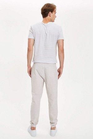 брюки Размеры модели: рост: 1,89 грудь: 98 талия: 76 бедра: 96 Надет размер: 32  Хлопок 100%