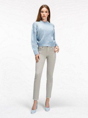 Женские джинсы укороченные VL558-S A.01 слоновая кость