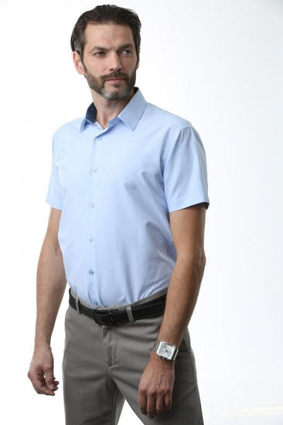 NicoloAngi_Качественно и Супер бюджетно рубашки — Рубашки приталенные - короткий рукав — Короткий рукав