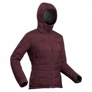 Пуховик Теплый и удобный пуховик с наполнителем, состоящим на 70% из втор. полиэстера, позволит Вам отправиться в поход в холодную погоду (до –10°С при активности). Имеет карманы на флисовой подкладке