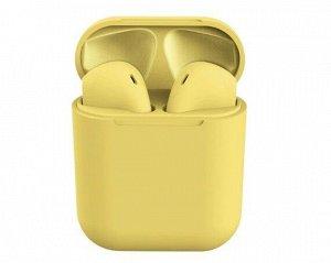 Bluetooth стереогарнитура inPods 12 желтая