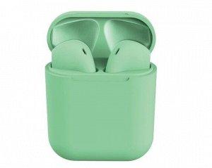 Bluetooth стереогарнитура inPods 12 зеленая