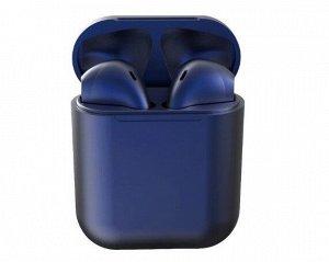 Bluetooth стереогарнитура inPods 12 темно-синяя