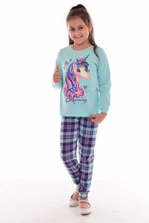 Пижама подростковая 12-073б (ментол), Единорог