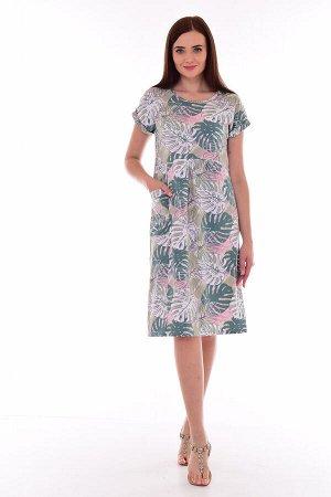 Платье женское 4-080 (ментол)