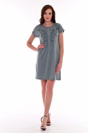 Платье женское 4-67г (полынь)