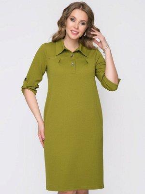 Платье Виктория (вассаби)