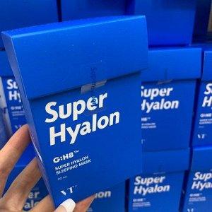 VT Cosmetics Super Hyalon Sleeping Mask Ночная маска для глубокого увлажнения (20шт*4мл)
