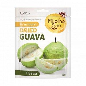 Гуава сушеная, filipino sun, 100г
