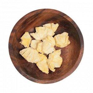 Здоровый фруктовый перекус из ананаса, зеленика, 20г