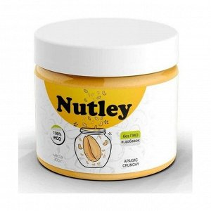Паста арахисовая crunchy, nutley, 300г