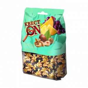 Фруктово-ореховая смесь, пакет, квест on, 200г
