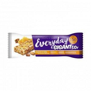 Батончики-мюсли с орехами и медом, granola, 50г