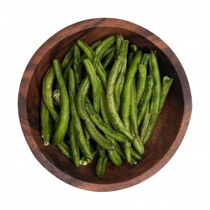 Здоровый фруктовый перекус из зеленой фасоли, зеленика, 30г