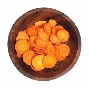 Здоровый фруктовый перекус из моркови, зеленика, 50г