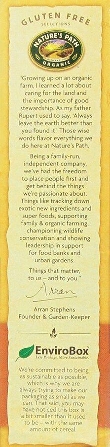 Хлопья органические кукурузные хрустящие и воздушные подушечки с кленовым сиропом sunrise® crunchy maple, 300г