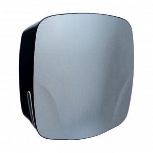 Диспенсер для полотенец бумажных merida mercury maxi черный пластик