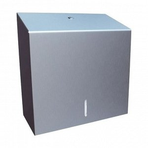 Диспенсер для полотенец бумажных merida stella maxi металл/матовый