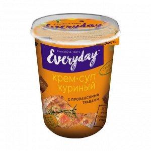 Крем-суп EVERYDAY курин. с прованск. травами и бородинск. сухарикам т/с 32 гр