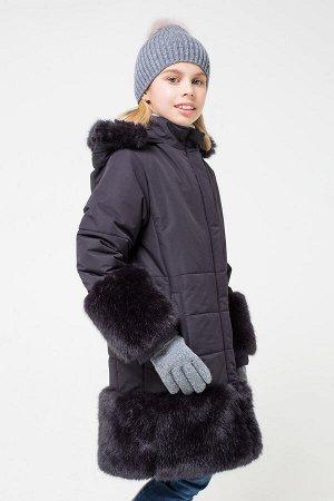 Пальто зимнее графит ВК 38035/2