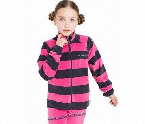 Куртка графит,розовый ФЛ 34011/н/25