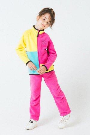 Куртка ярко-розовый,желтый, бирюза ФЛ 34026/1