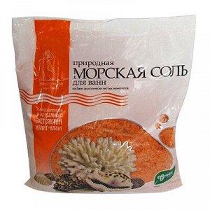 ГРИН ПРОМ Грин Пром Соль Морская Природная ИЛАНГ-ИЛАНГ пакет полиэтиленовый 1 кг