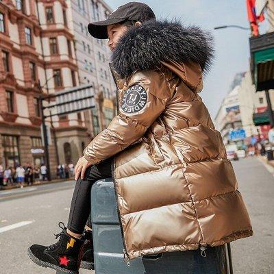 🧚♂️👗🧚♂️Детская экономка - Новогодняя Сказка 🧚♂️👗🧚♂️ — Куртки-пальто для девочек - Зима — Верхняя одежда