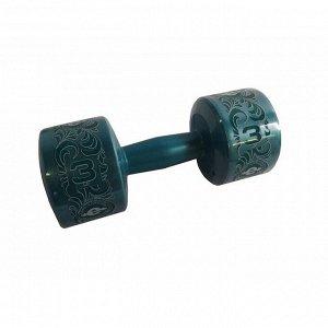 Гантель (корпус пластик) 3 кг/шт