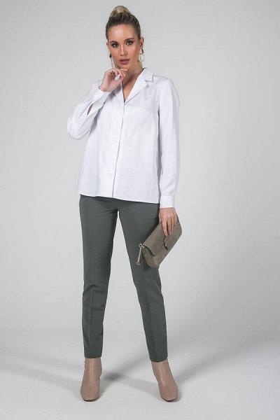 Элегантные блузки и стильные рубашки от Valentina dresses. — Брюки женские — Классические брюки