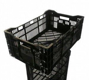 Ящик пластиковый Чёрный 60*40*23см
