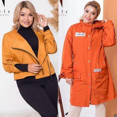 ⭐️*SТ-Style*Новинки+ Распродажа*Огромный выбор одежды! — 48+: Пальто, плащи и легкие куртки — Верхняя одежда