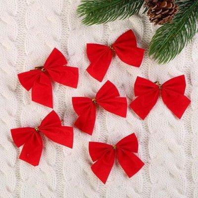 Все для Нового года! Игрушки, елки, гирлянды! Подарки к НГ — Елочные украшения в виде бантов — Украшения для интерьера