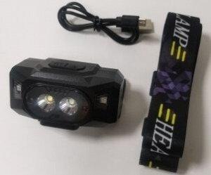 Фонарь налобный аккумуляторный KX-1807PRO /