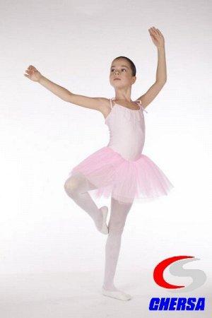 Боди-балеринка для балета с юбочкой из фатина (Артикул: 7991 )