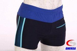 Плавки-шорты мужские с карманом ярким цветным поясом* (Артикул: 3039 )