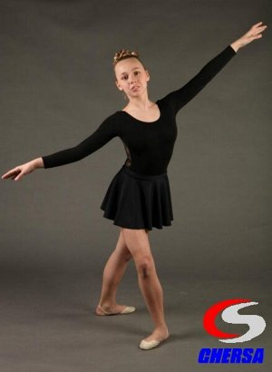Юбка для гимнастики и танцев из бифлекса (Артикул: 1051 )