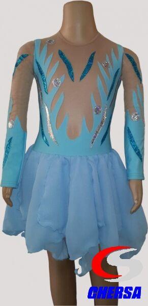 Платье для выступлений по фигурному катанию (Артикул: 7719 )