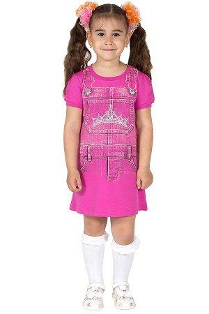 Платье Л2285-5443, розово-лиловый