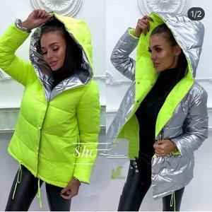 Куртка-зефирка двусторонняя